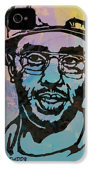 Puff Daddy Pop Stylised Art Poster IPhone 4 / 4s Case by Kim Wang