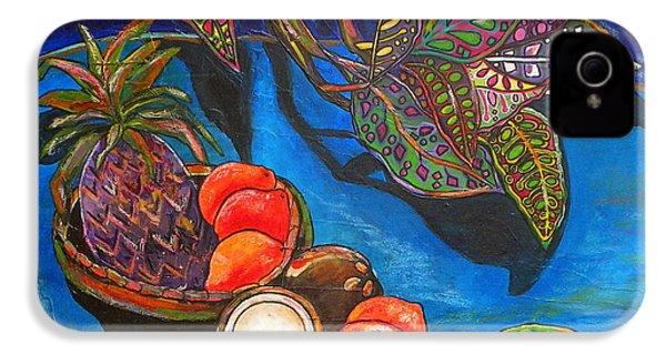 Purple Pineapple IPhone 4 / 4s Case by Patti Schermerhorn