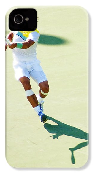Rafael Nadal Shadow Play IPhone 4 / 4s Case by Steven Sparks
