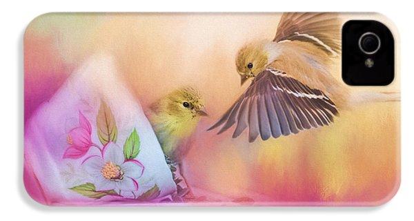 Raiding The Teacup - Songbird Art IPhone 4 / 4s Case by Jai Johnson