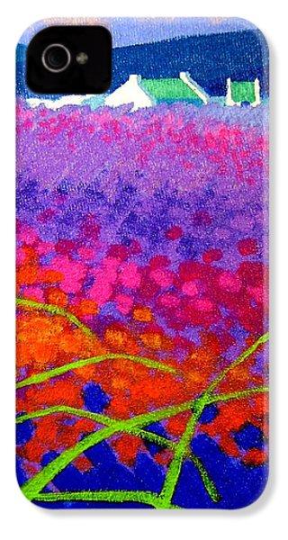 Rainbow Meadow IPhone 4 / 4s Case by John  Nolan