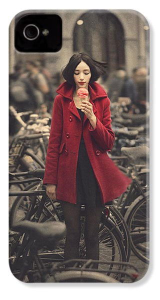 raspberry sorbet in Amsterdam IPhone 4 / 4s Case by Anka Zhuravleva