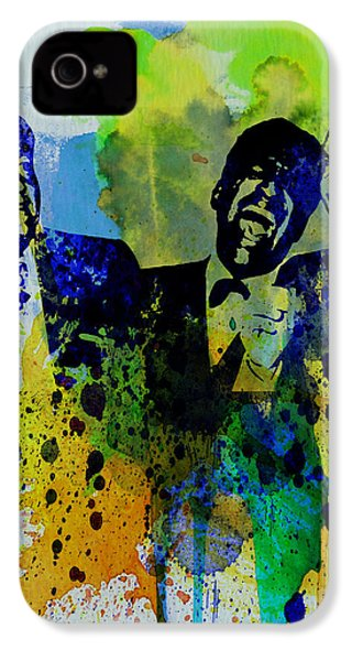 Rat Pack IPhone 4 / 4s Case by Naxart Studio