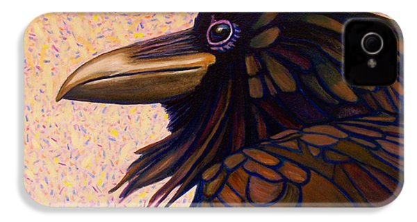 Raven Shaman IPhone 4 / 4s Case by Brian  Commerford
