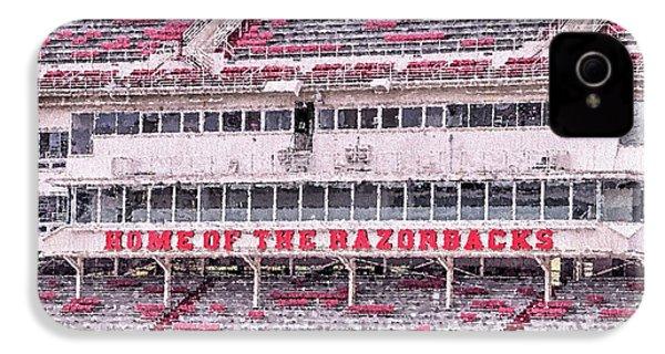 Razorback Stadium IPhone 4 / 4s Case by JC Findley