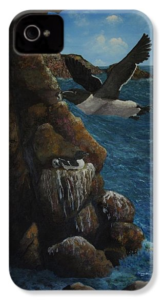 Razorbills IPhone 4 / 4s Case by Eric Petrie