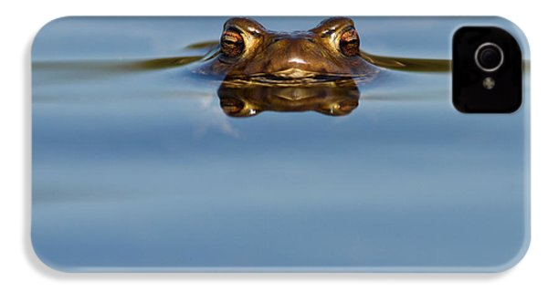 Reflections - Toad In A Lake IPhone 4 / 4s Case by Roeselien Raimond