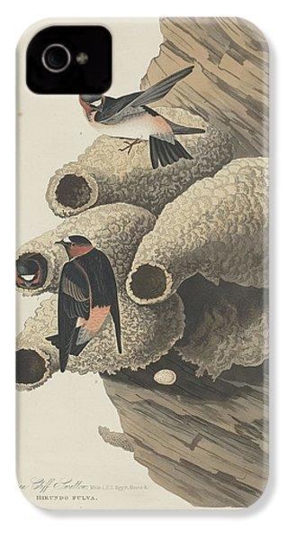 Republican Cliff Swallow IPhone 4 / 4s Case by John James Audubon