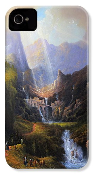 Rivendell. The Last Homely House.  IPhone 4 / 4s Case by Joe Gilronan