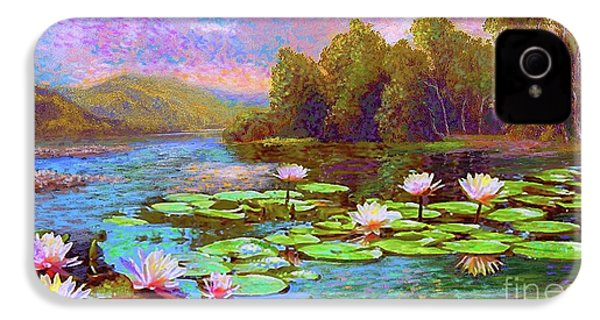 The Wonder Of Water Lilies IPhone 4 / 4s Case by Jane Small
