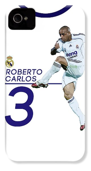 Roberto Carlos IPhone 4 / 4s Case by Semih Yurdabak