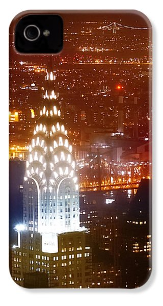 Romantic Manhattan IPhone 4 / 4s Case by Az Jackson