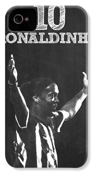 Ronaldinho IPhone 4 / 4s Case by Semih Yurdabak