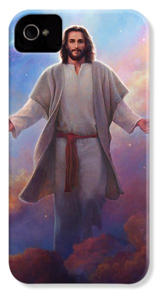 Sacred Space IPhone 4 / 4s Case by Greg Olsen