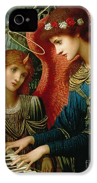 Saint Cecilia IPhone 4 / 4s Case by John Melhuish Strukdwic