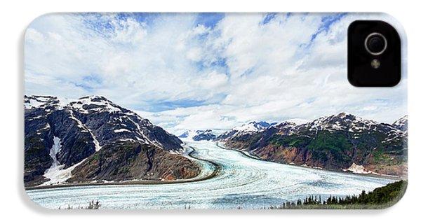 Salmon Glacier IPhone 4 / 4s Case by Heidi Brand