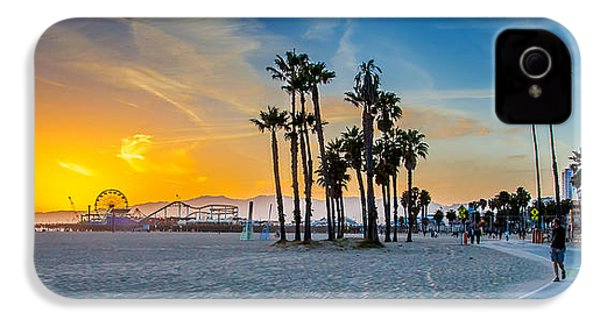 Santa Monica Sunset IPhone 4 / 4s Case by Az Jackson