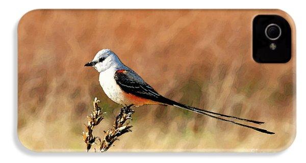 Scissor-tailed Flycatcher IPhone 4 / 4s Case by Betty LaRue