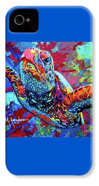 Sea Turtle IPhone 4 / 4s Case by Maria Arango