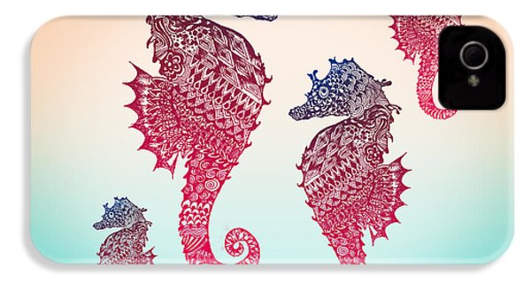 Seahorse IPhone 4 / 4s Case by Mark Ashkenazi