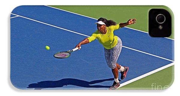Serena Williams 1 IPhone 4 / 4s Case by Nishanth Gopinathan