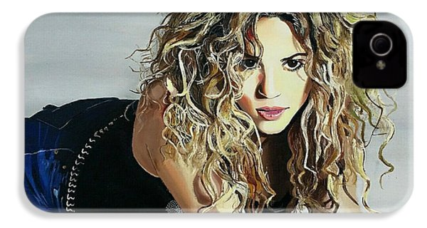 Shakira  IPhone 4 / 4s Case by Gitanjali  Sood
