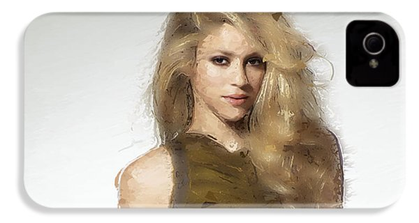 Shakira IPhone 4 / 4s Case by Iguanna Espinosa