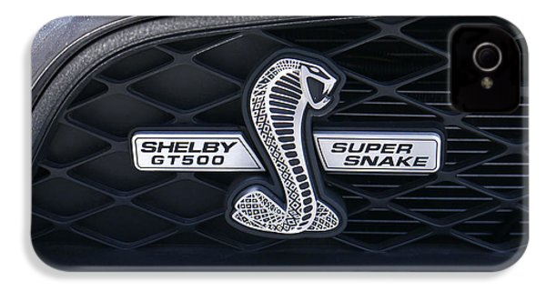 Shelby Gt 500 Super Snake IPhone 4 / 4s Case by Mike McGlothlen
