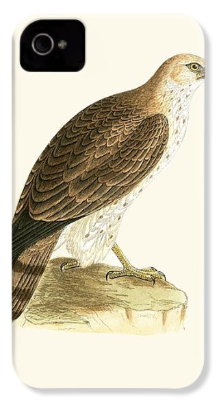 Short Toed Eagle IPhone 4 / 4s Case by English School