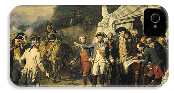Siege Of Yorktown IPhone 4 / 4s Case by Louis Charles Auguste  Couder
