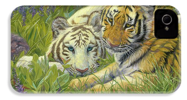 Sisters IPhone 4 / 4s Case by Lucie Bilodeau