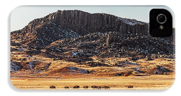 Snake Butte IPhone 4 / 4s Case by Todd Klassy