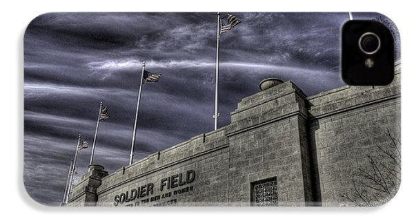 South End Soldier Field IPhone 4 / 4s Case by David Bearden