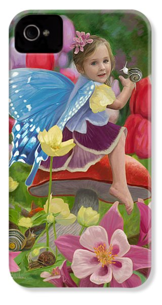 Spring Fairy IPhone 4 / 4s Case by Lucie Bilodeau
