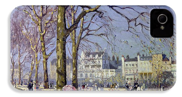 Spring In Hyde Park IPhone 4 / 4s Case by Alice Taite Fanner