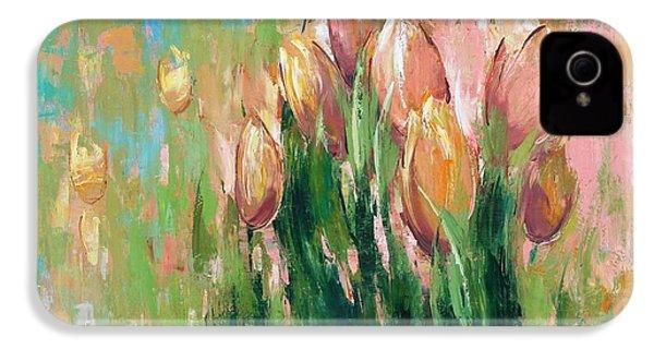 Spring In Unison IPhone 4 / 4s Case by Anastasija Kraineva