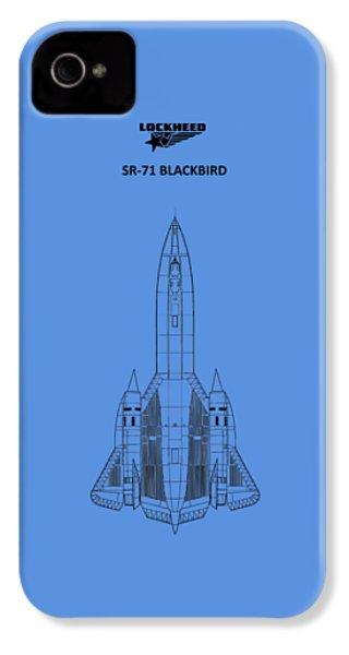 Sr-71 Blackbird IPhone 4 / 4s Case by Mark Rogan