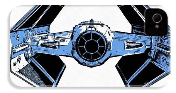 Star Wars Tie Fighter Advanced X1 IPhone 4 / 4s Case by Edward Fielding