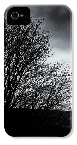 Starlings Roost IPhone 4 / 4s Case by Philip Openshaw