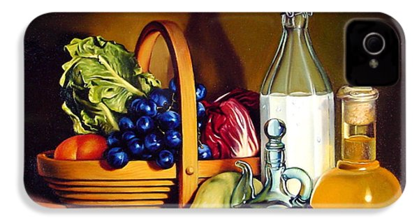 Still Life In Oil IPhone 4 / 4s Case by Patrick Anthony Pierson
