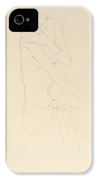 Study For Adele Bloch Bauer II IPhone 4 / 4s Case by Gustav Klimt