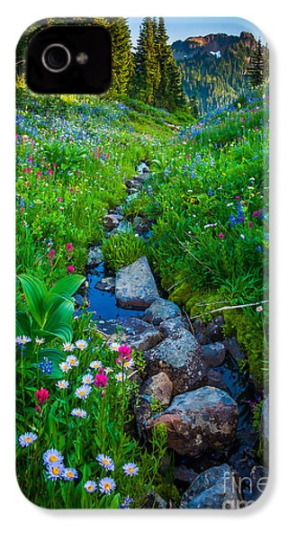 Summer Creek IPhone 4 / 4s Case by Inge Johnsson