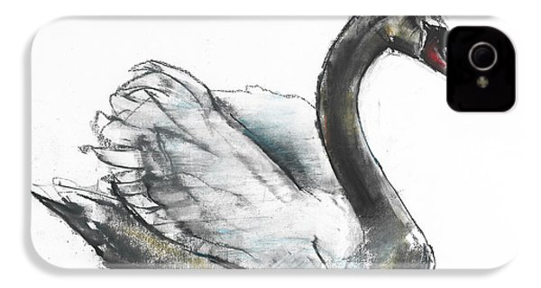 Swan IPhone 4 / 4s Case by Mark Adlington