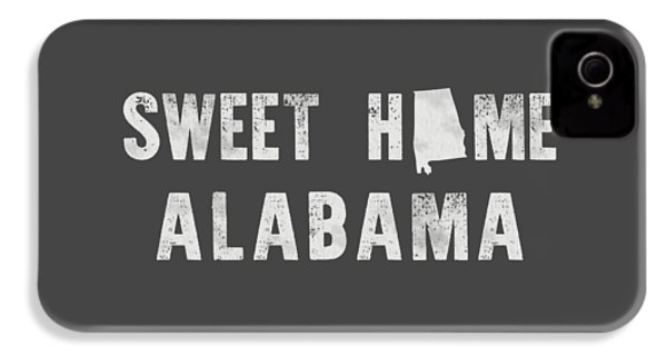 Sweet Home Alabama IPhone 4 / 4s Case by Nancy Ingersoll