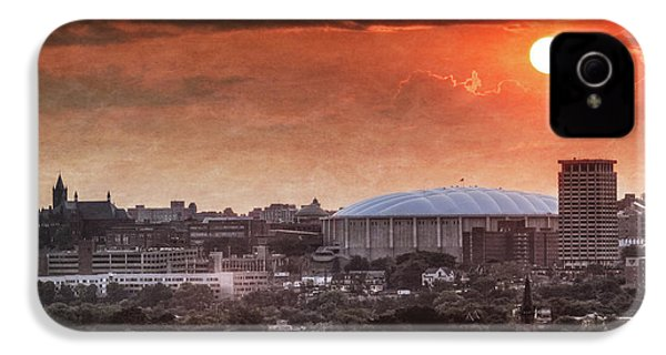 Syracuse Sunrise Over The Dome IPhone 4 / 4s Case by Everet Regal