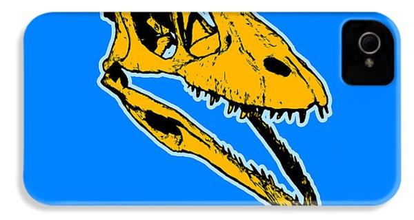T-rex Graphic IPhone 4 / 4s Case by Pixel  Chimp