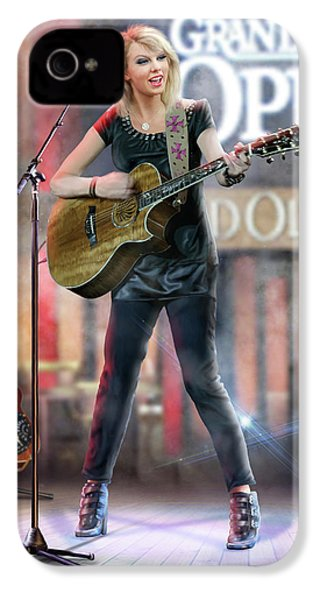 Taylor At The Opry IPhone 4 / 4s Case by Don Olea