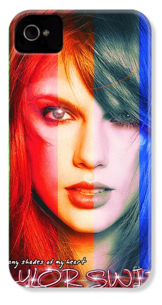 Taylor Swift - Sparks Alt Version IPhone 4 / 4s Case by Robert Radmore