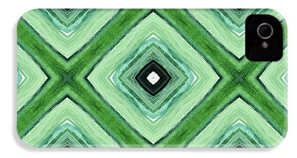 Tea Garden- Art By Linda Woods IPhone 4 / 4s Case by Linda Woods