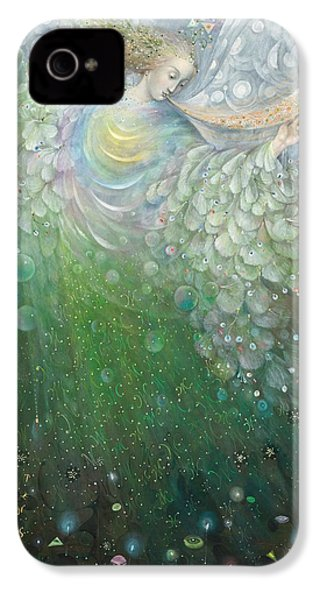 The Angel Of Growth IPhone 4 / 4s Case by Annael Anelia Pavlova